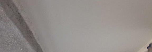 軒天の塗装工事|千葉県成田市のN様邸にて塗り替えリフォーム中