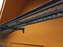 モルタル外壁の中塗り塗装 千葉県船橋市のM様邸にて塗り替えリフォーム中